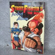 STREET FIGHTER II 2 Movie Perfect Album w/Poster Art Material Fanbook Book KO5x*