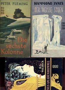 3x Arno Schmidt als Übersetzer rororo 52 weiße süden, 80  6. Kolonne 12124 Venus