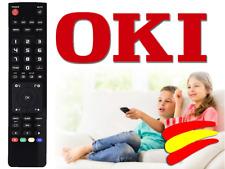 Mando a distancia Televisión TV LCD OKI