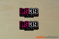 PEGATINA STICKER VINILO mini Luis Salom 39 always autocollant aufkleber adesivi