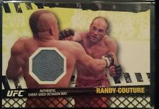 2010 TOPPS UFC FIGHT MAT RELICS FROM UFC 57 RANDY COUTURE UFC MMA #FMRC