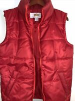 Official Universal Back To The Future Marty McFly Red Puffer Vest Small