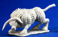 1 x BRASS BULL - BONES REAPER figurine miniature d&d jdr rpg taureau laiton beas