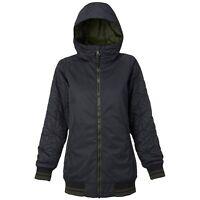 BURTON Women's MOSSEY MAZE Snow Jacket - True Black - Small - NWT
