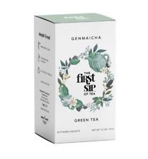 Genmaicha Green Tea Box - 16 ct.  - Sweet, Healthy, Calming