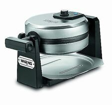 Waring Pro WMK200 Stainless Steel Belgian Waffle Maker with Rotary Feature