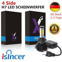 480W 40000LM H7 LED Scheinwerfer Birnen Leuchte Lampen SUPE Weiß 6000K CREE