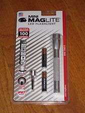 Maglite AAA 2 Cell LED Silver maglight LED mag-lite mag-light LED 100 LUMENS