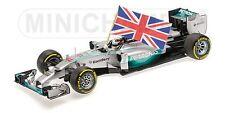 MINICHAMPS 110 140544 MERCEDES AMG F1 model car Hamilton Win Abu Dhabi 2014 1:18