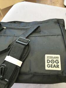 Overland Dog Gear Dog Travel Bag, Week Away Tote For Med And Large Dogs (Black)