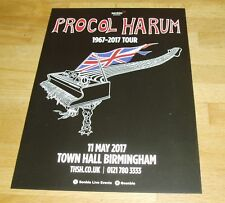 PROCOL HARUM (UK Concert Flyer 2017) Gary Brooker & Co.