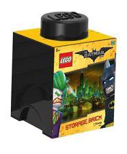 Lego Batman l4001bmb immagazzinamento mattone, Nero - NUOVO