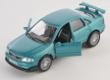 BLITZ VERSAND Audi A4 / A 4 grün / green 1:34-39 Welly Modell Auto NEU & OVP