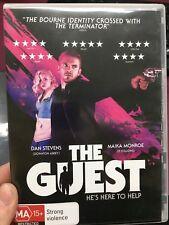 The Guest ex-rental region 4 DVD (2014 thriller movie)