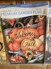 Brand New Magnetwork Garden Flag 12x18 Halloween Pickup Truck Flag