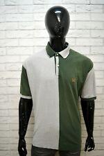Polo Maglia Uomo TOMMY HILFIGER Taglia 2XL Maglietta Bicolore Shirt Men's Casual