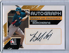 2011 ITG Heroes and Prospects Silver BOBBY BORCHERING Autograph #BBO  (2424)