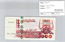 BILLET ALGÉRIE - 1000 DINARS 1998 *
