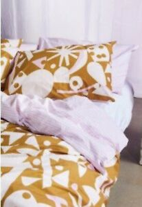 Gorman Moonshine 100% Cotton Bedding Set ~ Queen Size Bed Brand New With Tag