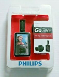 Phillips GoGear Move Pack PAC017 Belt Clip Armband Pouch Black