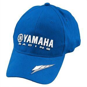 OEM Yamaha Racing Flex Fit Baseball Hat Cap with Tuning Fork Logo SM/MD & LG/XL