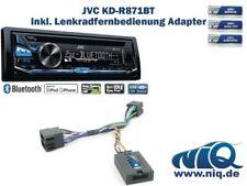 JVC KD-R871BT inkl. Lenkrad Fernbedienung Adapter Peugeot 206 / 307 / 406 / 607