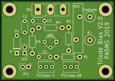 Triode Bias board MK-II complete KIT for 3CX1500 / 8877 / GS31b / GS35b + others