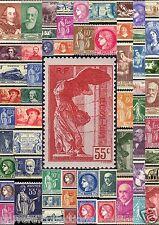 Timbres 1937 à 1938.   Du N°334 au N°418
