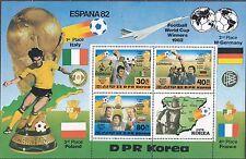 KOREA Pn. 1982 MNH** SC#2226 Sheet, ESPANA '82 World Soccer Cup Winners.