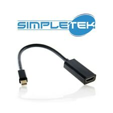 CAVO ADATTATORE MINI DISPLAYPORT TO HDMI FEMMINA DISPLAY PORT ULTRA HD 1080P-