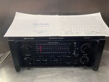 SAE 2100L Solid State Preamplifier Manuel & Schematic / Amplifier Equalizer Rack