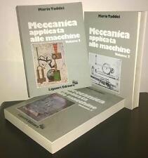 Mario Taddei, Meccanica applicata alle macchine, 3 voll., Liguori, Napoli 1981