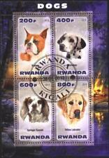 Used  S/S  Fauna Dogs 2013 from Rwanda  avdpz