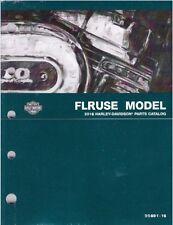 2016 Harley FLTRUSE CVO Road Glide Ultra Parts Manual Catalog 99891-16