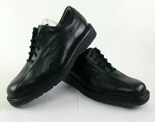 Mephisto Mens Oxford Lace Up Ecco Shoes Size 11 Black Leather Shock Absorbing