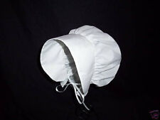 Colonial Apron and Bonnet One Size Fits Most