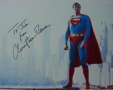RARE STILL  SUPERMAN CHRISTOPHER REEVE SIGNED
