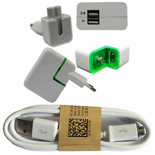 Asus Zenfone 3 Laser USB Micro Ladekabel + SCHNELL Power Adapter Charger 3100mAh