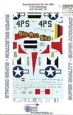 Superscale Decal 48-1080 P-47D Thunderbolt