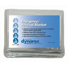 100 Emergency Rescue Space Thermal Mylar Blankets 84x52