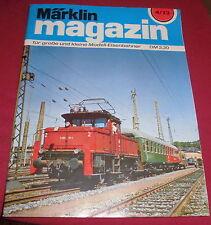 dachbodenfund zeitschrift heft märklin magazin für modell eisenbahner 1973 alt