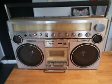 BOOMBOX GOLDSTAR TSR-640 Vintage Cassette Ghetto Blaster 80'S