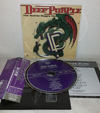 CD DEEP PURPLE - THE BATTLE RAGES ON - JAPAN - BVCM-37686 - MINI LP