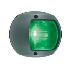 PERKO LED SIDE LIGHT 12V GREEN W/ BLACK PLASTIC