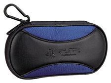 Sony PSP 1000 2000 3000 Official Licensed Game Traveler Console Case Black
