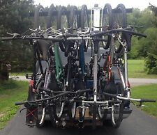 Bike Rack Hitch Mounted 4, 5, 6, 7, 8 Bikes
