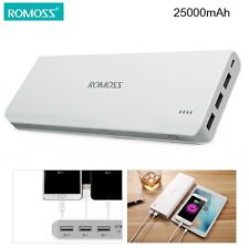 ROMOSS Sense 9 25000mAh Power Bank Portable Quick Charger 3 USB Charging Ports