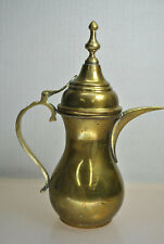 ANTIQUE BRASS PITCHER TEAPOT MIDDLE EAST REGION ASIAN