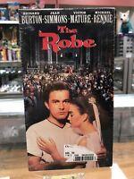 The Robe (VHS, 1998) Richard Burton Jean Simmons Victor Mature Michael Rennie