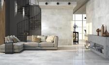 SAMPLE £14.59m2+vat Concrete Grey High Gloss Porcelain Tiles 60X60 wall-floor